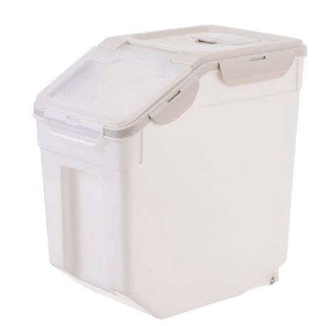 Dog Food Storage Containers With Roller